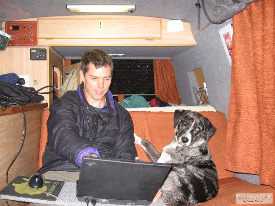 The mobile office - for writing dissertations!